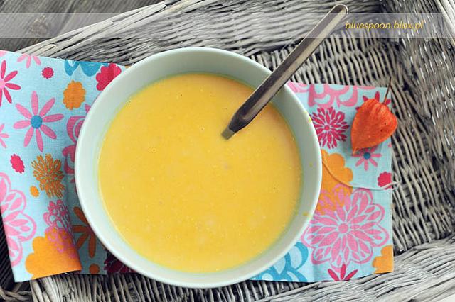 zupa z dynii - przepis i zdjecia