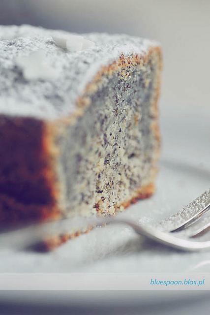 ciasto pomarańczowo makowe na gwiazdkę