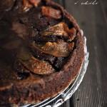Czekoladowe ciasto z gruszkami i chili – i na odwrót