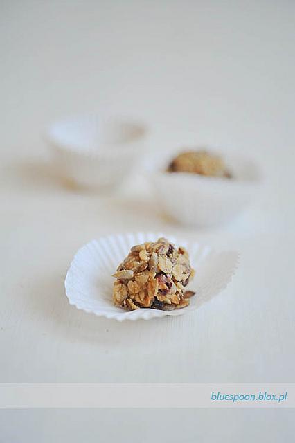 kulki z płatków owsianych i masła orzechowego - sprawdzony przepis
