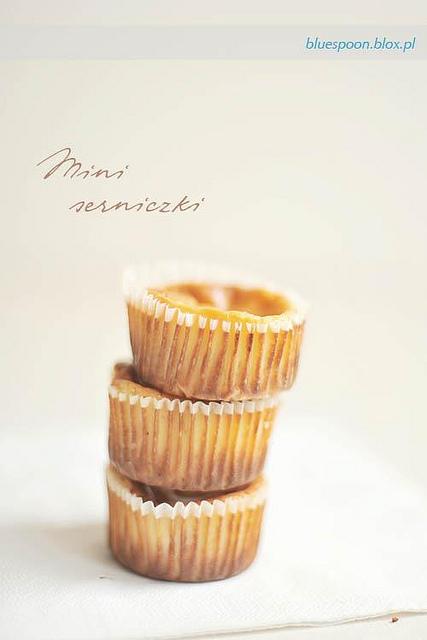 mini serniczki z ciasteczkami Oreo - przepis i zdjęcia