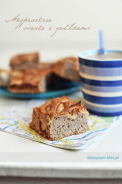 proste ciasto z jabłkami - sprawdzony przepis i zdjęcia