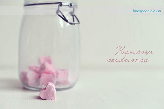 domowe pianki marshmallows - przepis i zdjęcia