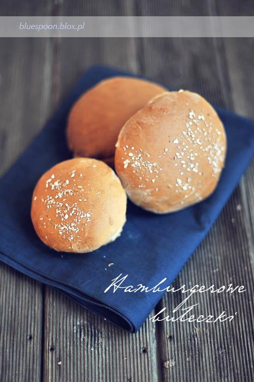 łatwy i szybki przepis na bułki do hamburgerów