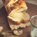 Francuskie śniadanko czyli brioszka z warkoczem