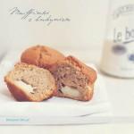 Muffinki z budyniowym nadzieniem