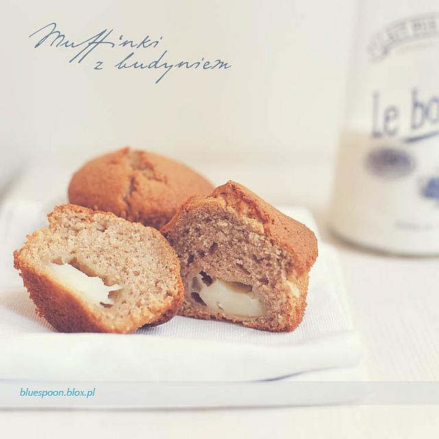łatwy i sprawdzony przepis na muffinki z budyniem