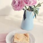 Ciasto z rabarbarem i truskawkami czyli początek lata!