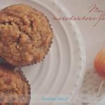 Muffinki marchewkowe z jabłkiem