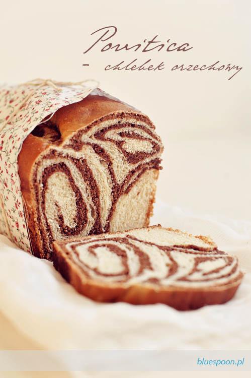 przepis na povitica - chlebek orzechowy
