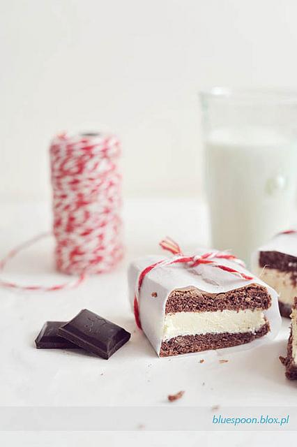 mleczna kanapka - łatwy przepis na ciasto dla dzieci