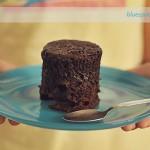 Czekoladowe ciastko z mikrofali – dla dwojga