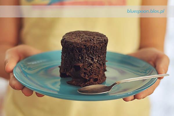 ciasto z mikrofalowki - przepis i zdjecie
