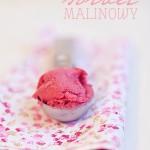 Malinowy sorbet