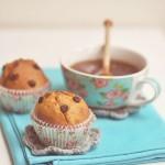 Muffinki śmietankowe z czekoladą