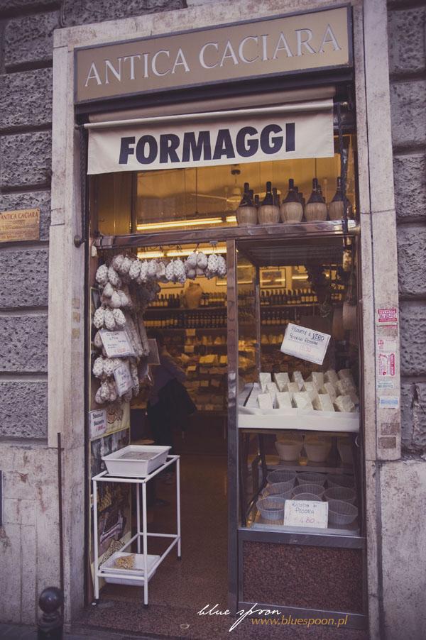 sklep włoski z serami