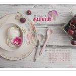 Tapeta na czerwiec i przepisy na lato