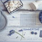 Tapeta na sierpień i owocowe przepisy