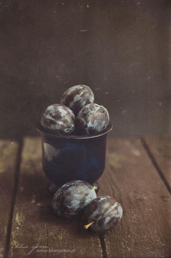 fotografia kulinarna: sliwki