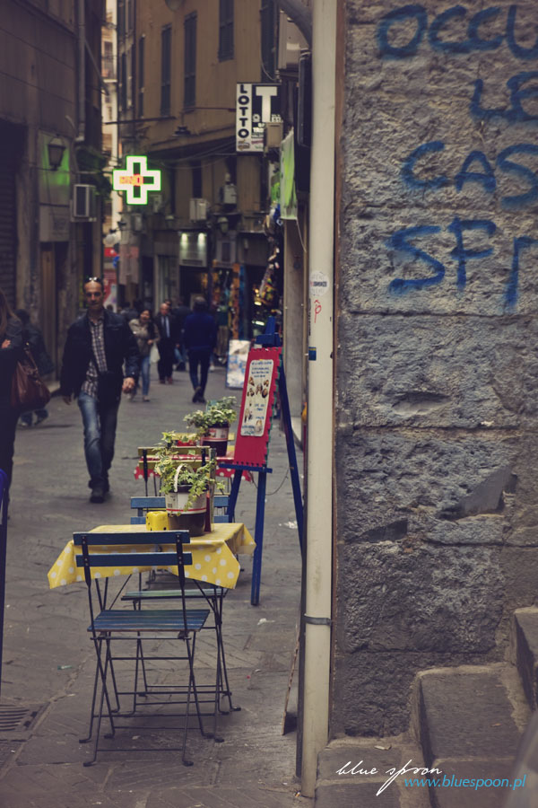 knajpka we Włoszech