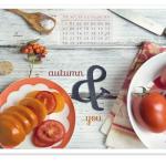 Tapeta wrześniowa i przepisy na jesień