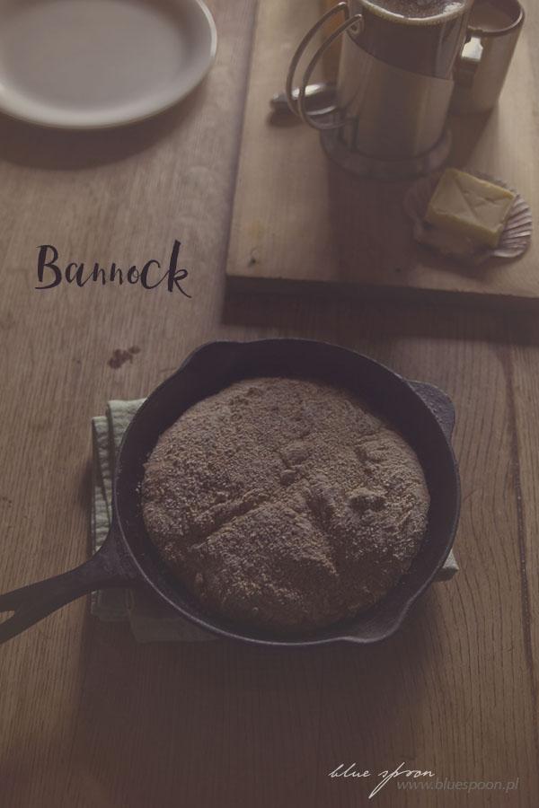 przepis na bannock