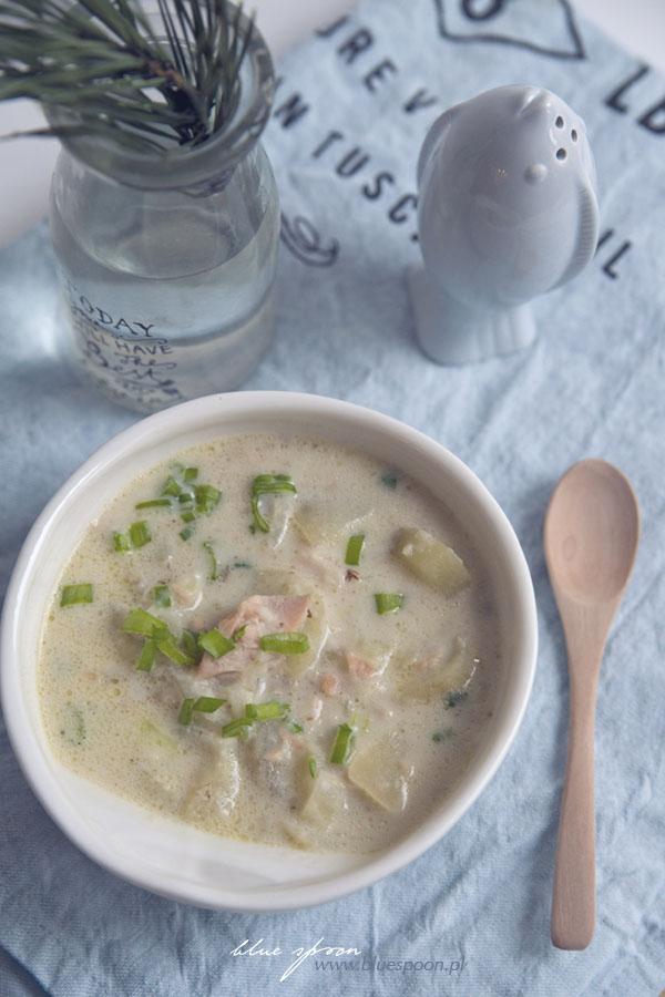 przepis na szkocką zupę rybną