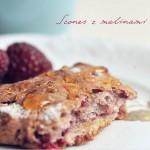 Wczesnojesienne śniadanie – scones z malinami