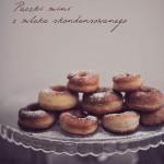 Mini pączki (donuty) z mleka skondensowanego