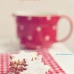 Ciastka wycinane (śnieżynki)