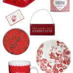 Czerwono na święta – wypatrzone w sklepach (ceny)
